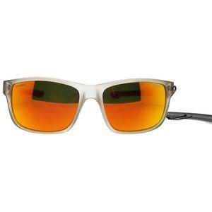 CONVAIR-150P-57 Wrap Men's Grey Frame Sunglasses